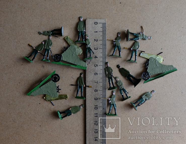 Солдатики оловянные - Германия - РИА - артиллерия 2., фото №8