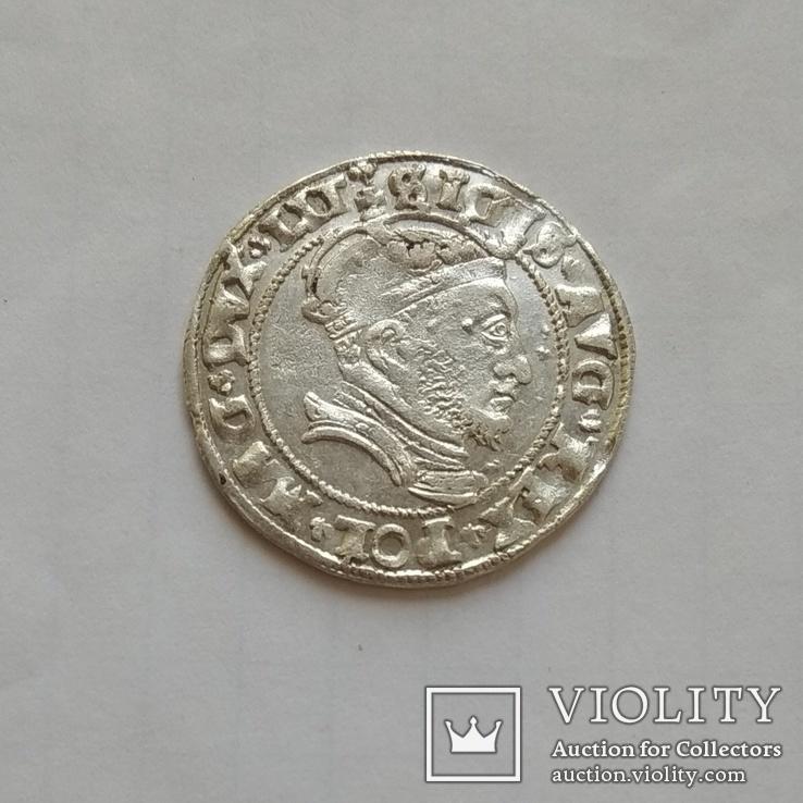 Литовський грош 1546р, фото №4