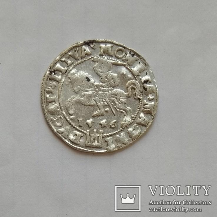 Литовський грош 1546р, фото №7