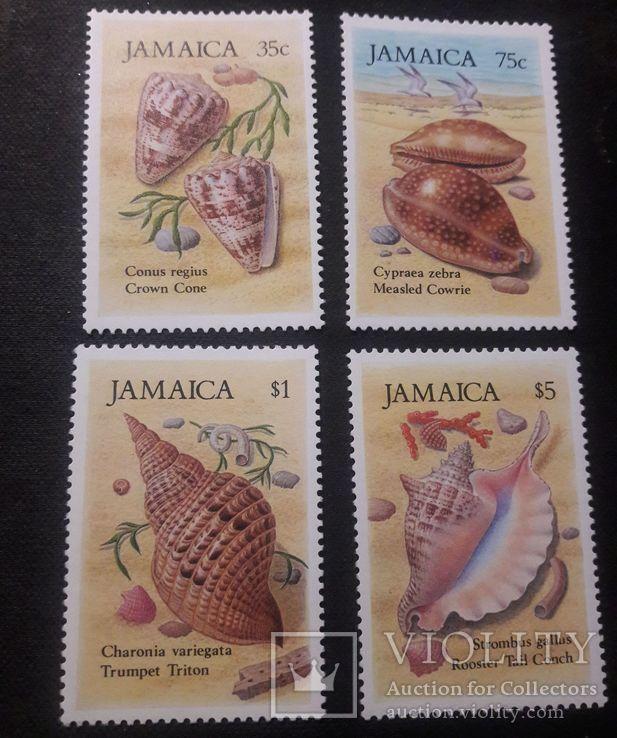 """Серия марок Ямайки- """"Раковины"""", фото №2"""