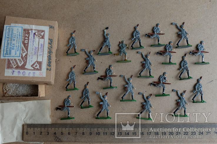 Солдатики оловянные - Германия -  фирма BIZ., фото №2