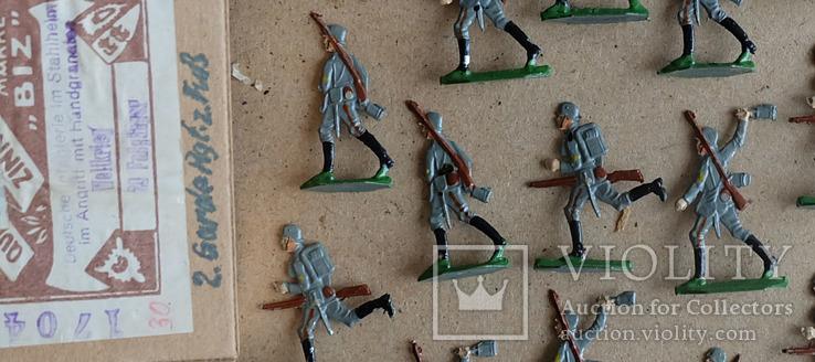 Солдатики оловянные - Германия -  фирма BIZ., фото №4