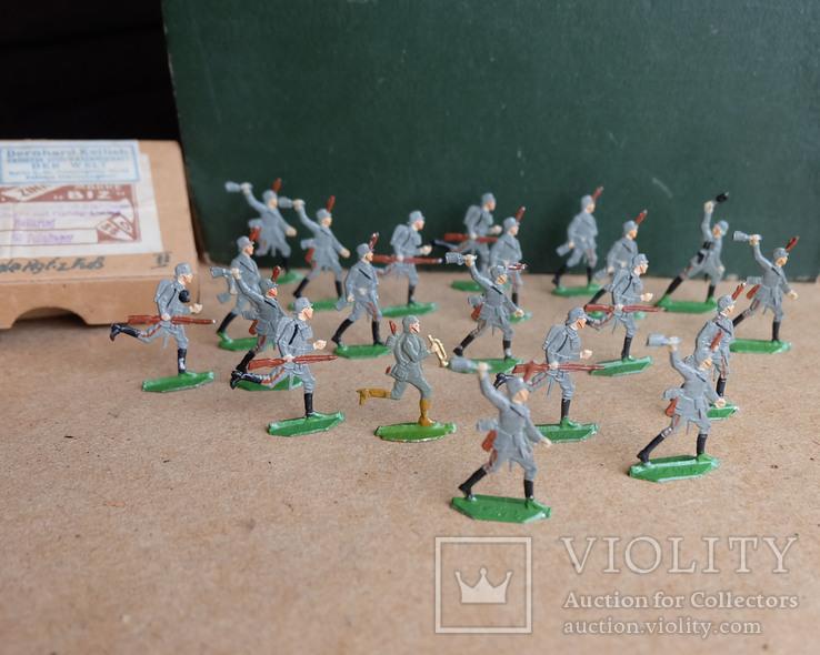 Солдатики оловянные - Германия -  фирма BIZ., фото №7