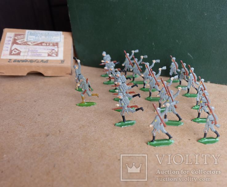 Солдатики оловянные - Германия -  фирма BIZ., фото №9