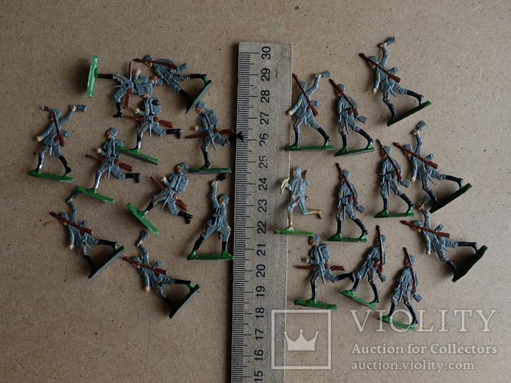 Солдатики оловянные - Германия -  фирма BIZ., фото №10