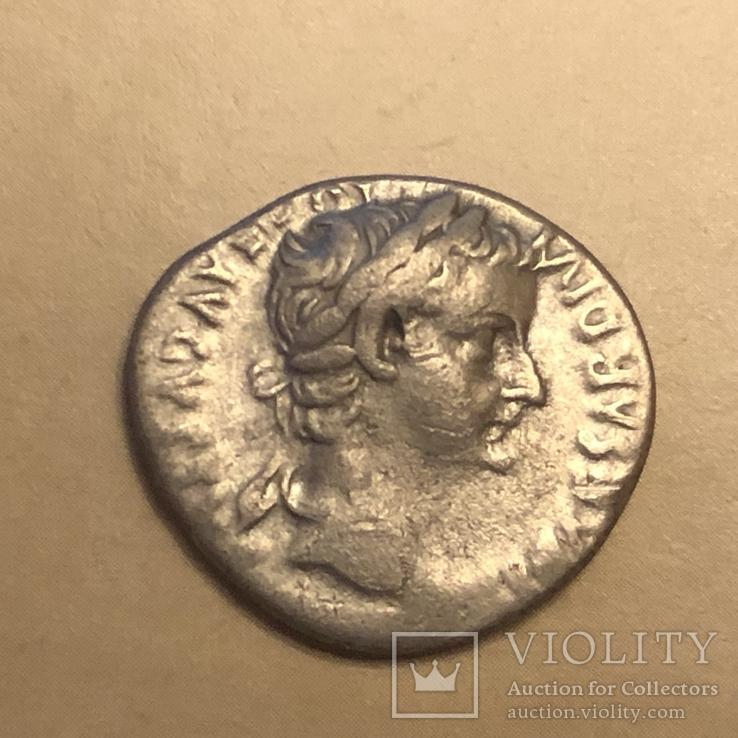 Денарій Тиберія, 14-37 від Р.Х.