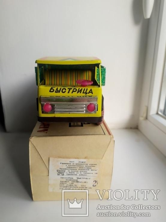 """Машинка""""Быстрица"""" СССР в родной коробке, фото №7"""