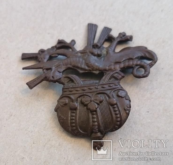 Эмблема пулеметчик, фото №3