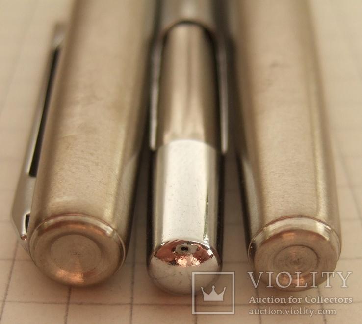 """Новая перьевая ручка """"Wing Sung-220"""" 1989 года. Пишет мягко и тонко., фото №5"""