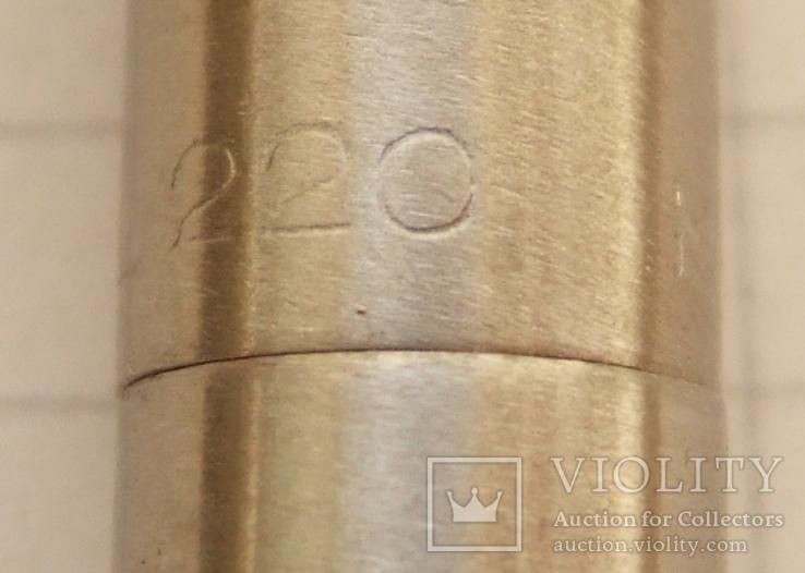 """Новая перьевая ручка """"Wing Sung-220"""" 1989 года. Пишет мягко и тонко., фото №8"""