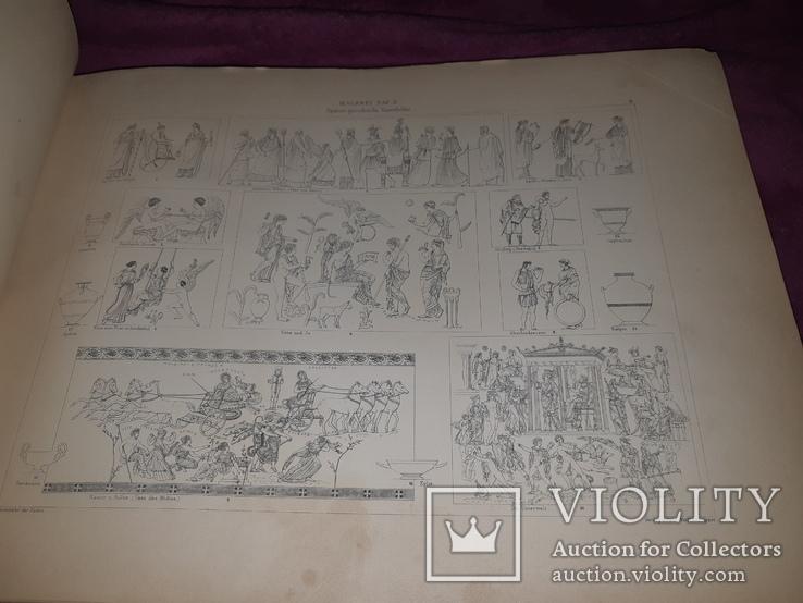 1890-e Архитектура с древнейших времен 43х31 см. со 203 гравюрами на отдельных листах, фото №8