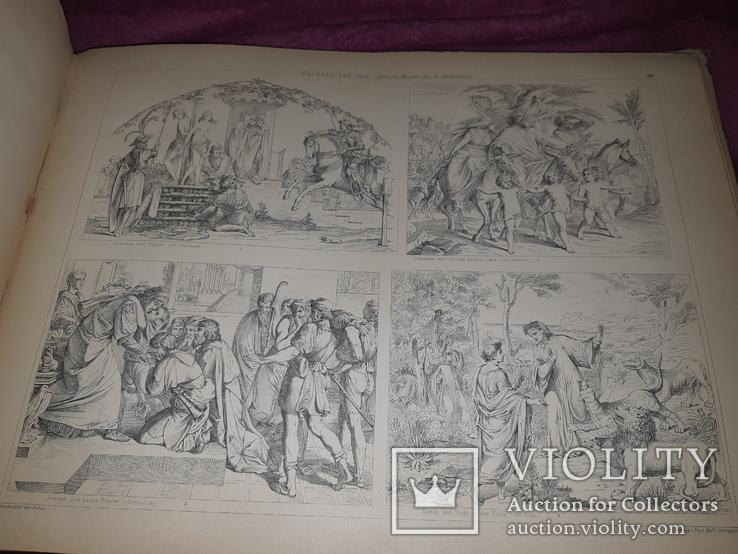 1890-e Архитектура с древнейших времен 43х31 см. со 203 гравюрами на отдельных листах, фото №10