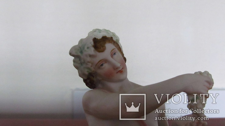 """Вечно молод Дионис,с виноградными гроздьями"".Франция, сер.XIX века., фото №11"