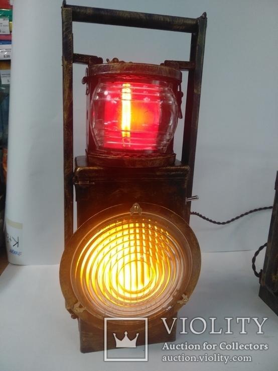 Светильник ручной работы Железнодорожный фонарь