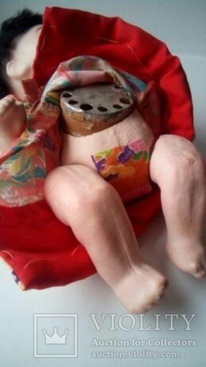 Антикварная кукла Ichimatsu ичимацу Japanese 40-50г Япония, фото №3