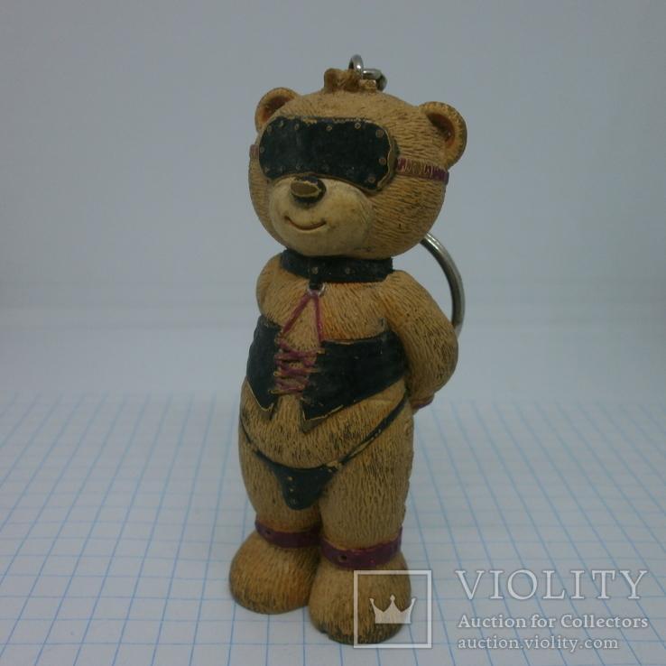 Брелок Мишка Тедди в сексуальном белье. 75мм, фото №2
