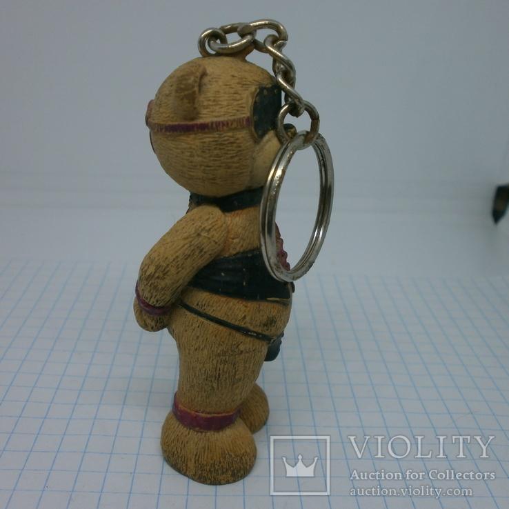 Брелок Мишка Тедди в сексуальном белье. 75мм, фото №5