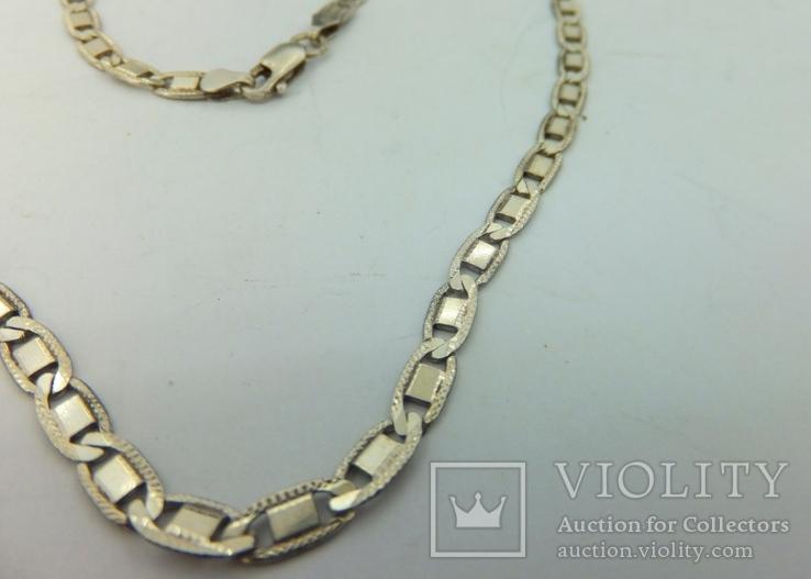 Цепочка серебро (№8), фото №5