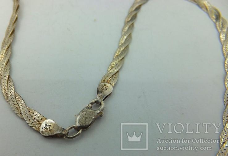Цепочка женская серебро (№14), фото №6