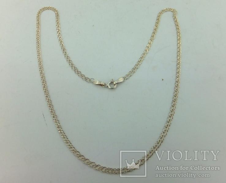 Цепочка серебро (№16), фото №5