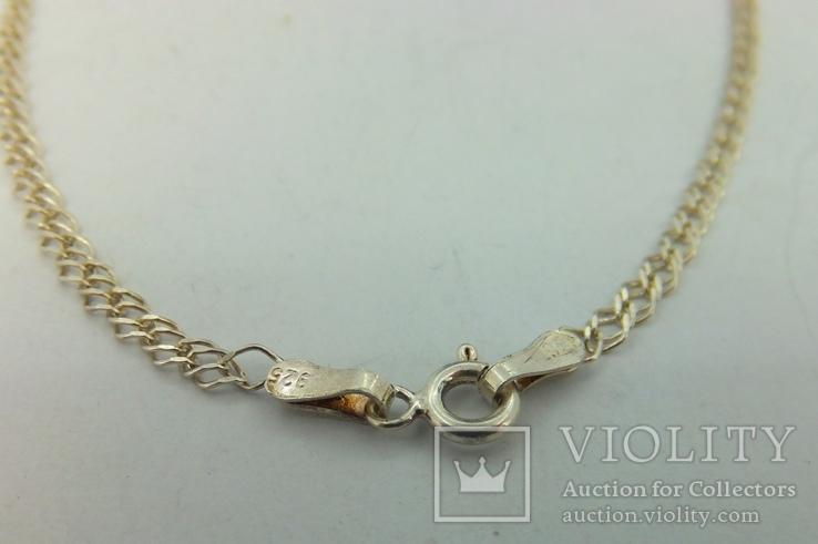 Цепочка серебро (№16), фото №6