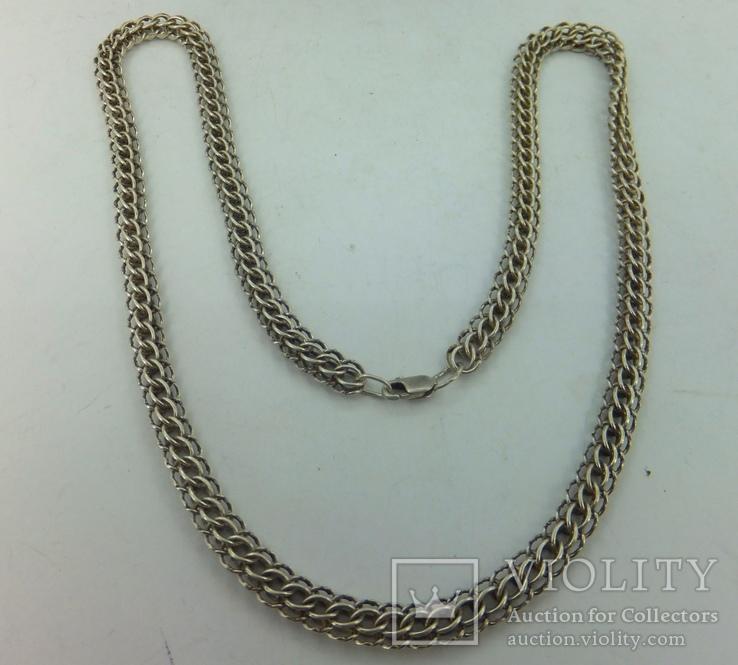 Цепочка серебро (№17), фото №5