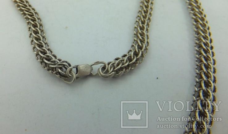 Цепочка серебро (№17), фото №6