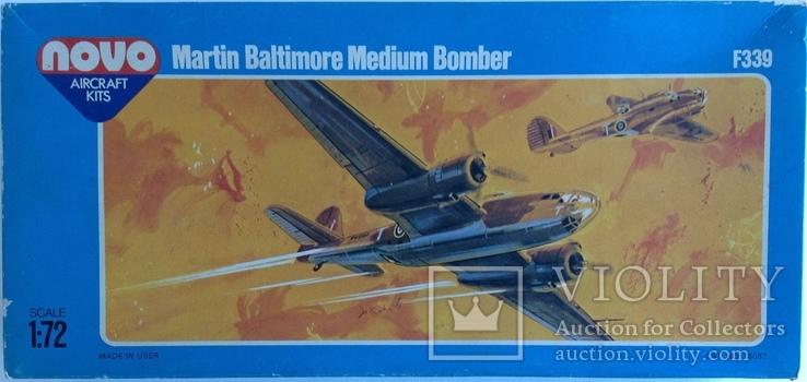 Модель самолета Martin Baltimore F339 Novo 1/72, фото №2