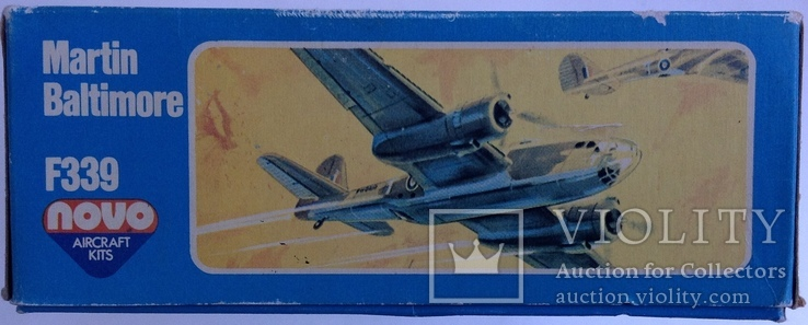Модель самолета Martin Baltimore F339 Novo 1/72, фото №4
