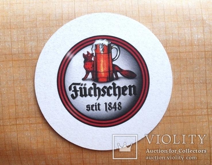 "Костер бирдикель  пиво ""Füchschen"", Германия, фото №5"