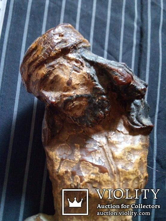 Полихромная скульптура Розпяття, фото №3