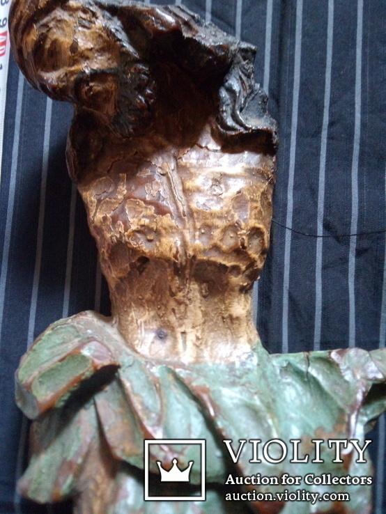 Полихромная скульптура Розпяття, фото №5