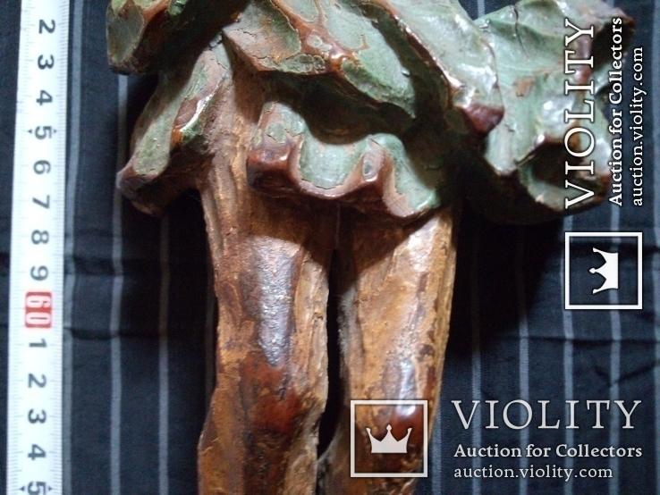 Полихромная скульптура Розпяття, фото №7