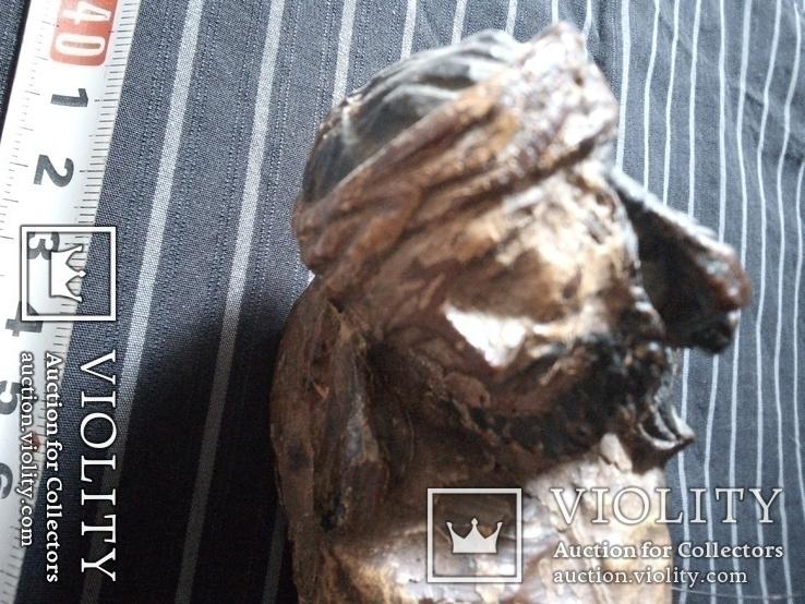 Полихромная скульптура Розпяття, фото №9