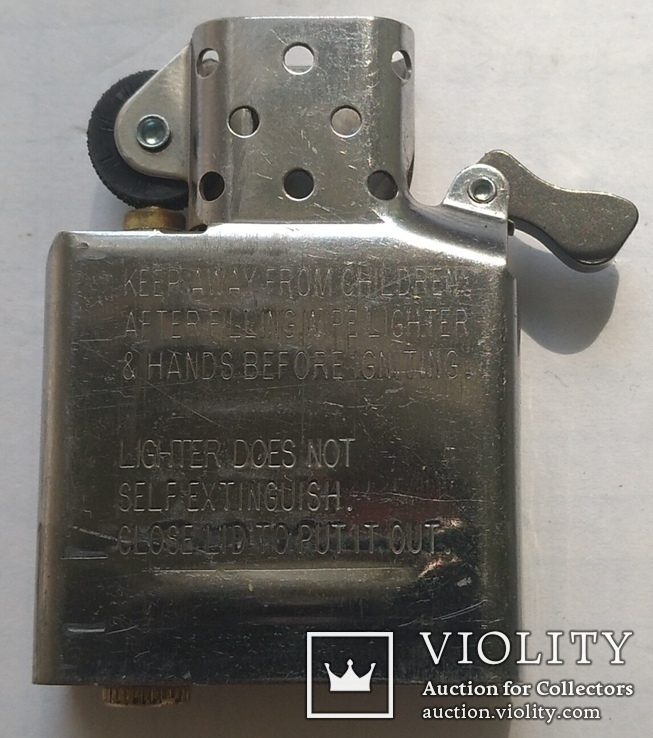 Запальничка Зіппо в срібному корпусі., фото №10