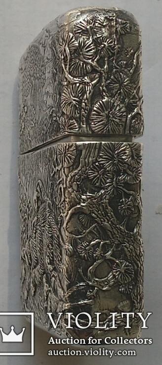 Запальничка Зіппо в срібному корпусі., фото №11