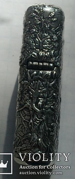 Запальничка Зіппо в срібному корпусі., фото №12