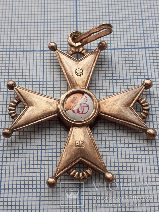 Знак Императорского и Царского Ордена Св. Станислава ( Под реставрацию )