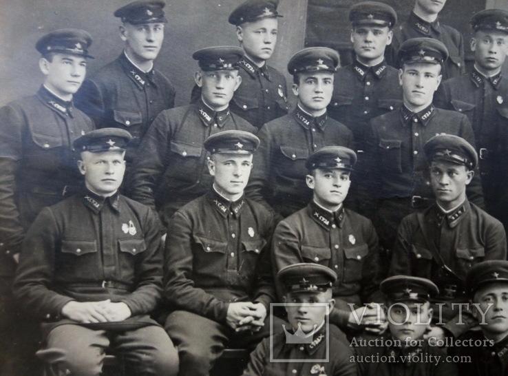 Групповое  фото  выпускников Севастопольское училище зенитной артиллерии 1935 -1938 года, фото №8