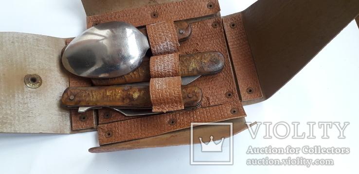 Набор туристический (Нож+вилка+ложка), фото №6