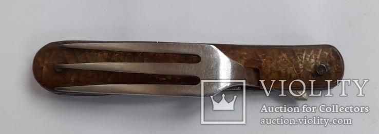 Набор туристический (Нож+вилка+ложка), фото №7