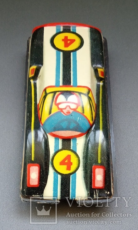 Гоночная машина жесть СССР, фото №5