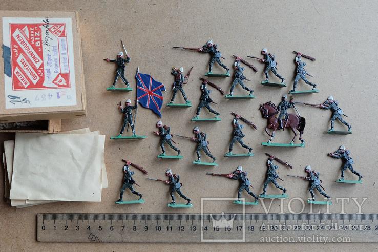 Солдатики оловянные - Германия - фирма BIZ - англ., фото №2