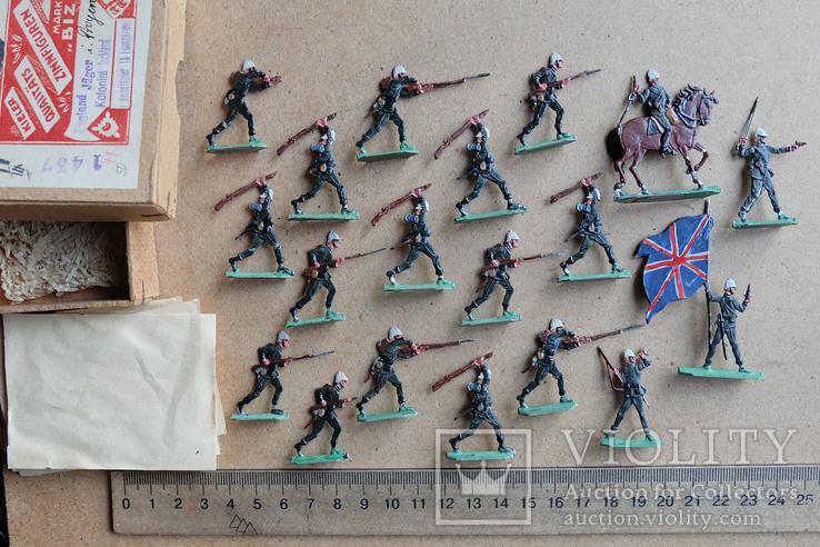Солдатики оловянные - Германия - фирма BIZ - англ., фото №3