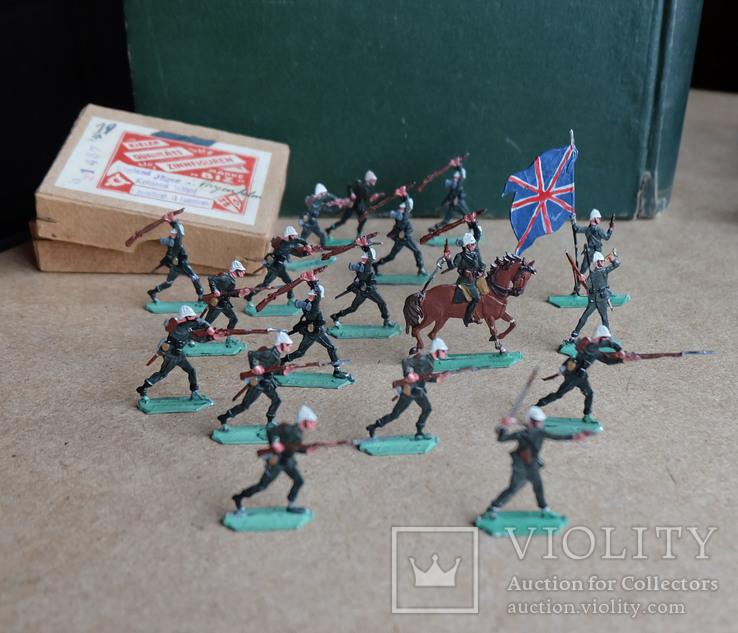 Солдатики оловянные - Германия - фирма BIZ - англ., фото №5