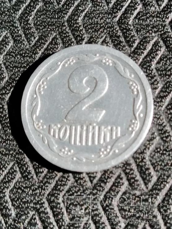 2 копейки 1992 реверс реверс (клейка), фото №8