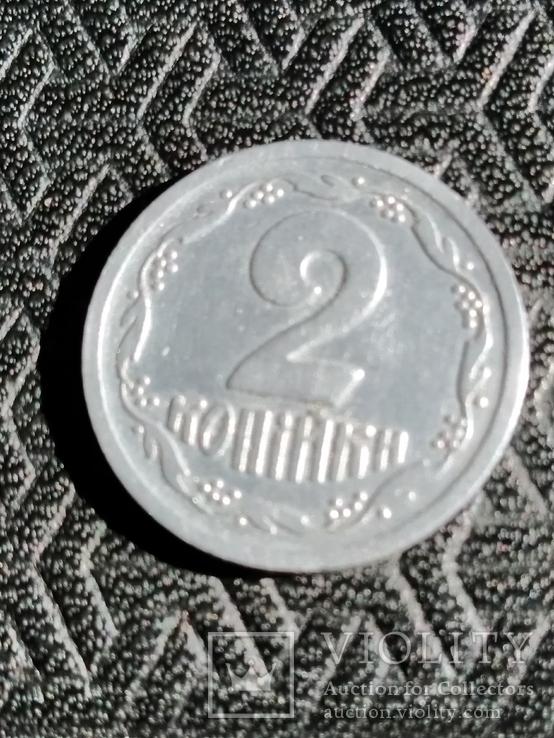 2 копейки 1992 реверс реверс (клейка), фото №11