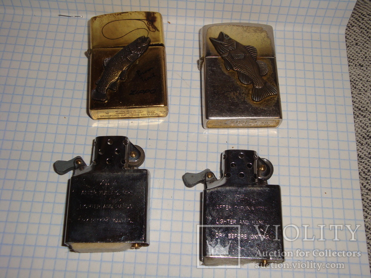 Бензиновая зажигалка 2 шт., фото №10