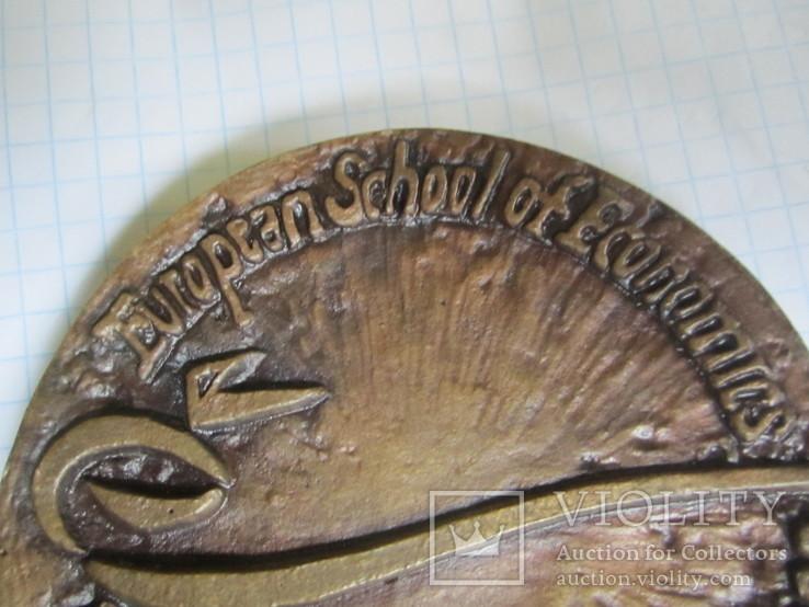 Настольная медаль-большая и тяжелая., фото №5