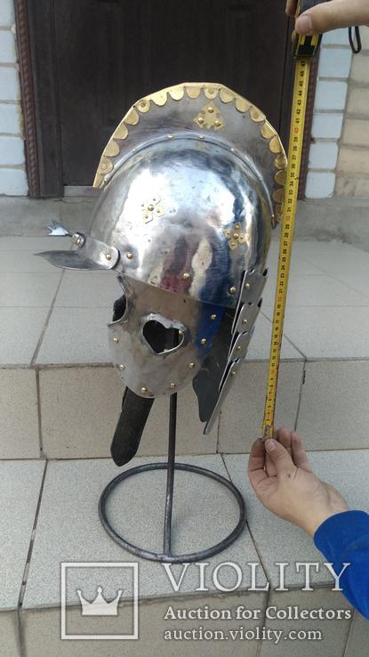 Шлем Польского крылатого гусара 17 век. (Копия), фото №3